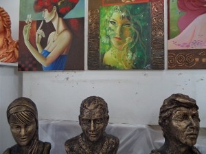 معرض الفنون للبنات في البصرة