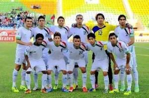 منتخب العراق الاولمبي 2014