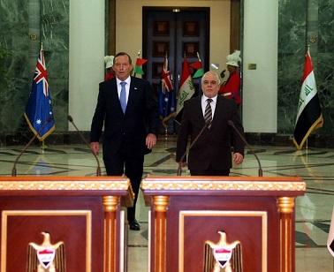 العراق واستراليا 312015