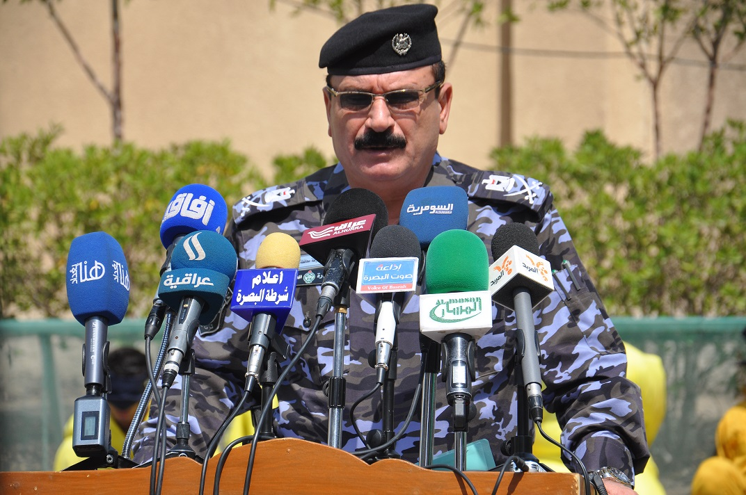 قائد شرطة البصرة
