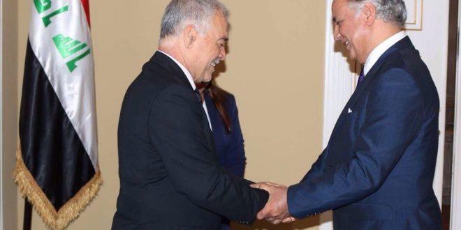 دعوة سفارة جمهورية العراق للدكتور الماجدي