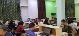 بدء الامتحان التنافسي لطلبة الدراسات العليا (( الماجستير ))وعلى رحاب قاعة الحاسبات في كلية التقنيات الصحية والطبية في البصرة