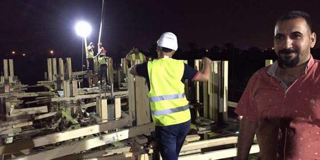 كهرباء الكرخ تنفذ مشاريع مهمة لحل الاختناقات هذه الليالي رمضان المباركه
