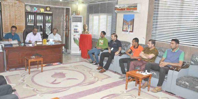 تربية ميسان : مؤتمر فني لبطولة رمضانية بخماسي القدم
