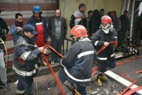 الدفاع المدني يخمد حريق الشورجة