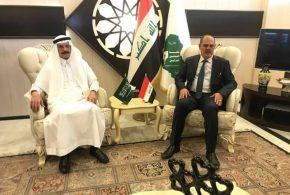 وفد إعلامي سعودي رفيع المستوى يصل الى بغداد بعد انقطاع اكثر من 28 عاما