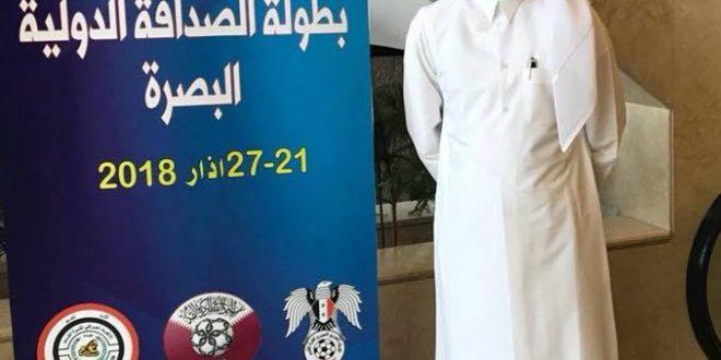 بطولة الصداقة الدولية …المنسق ألأعلامي للمنتخب القطري علي عيسى الصراحة كأننا لعبنا في الدوحة وليس في البصرة