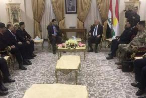 وزير الداخلية يبحث في اربيل اعادة فتح المطارات والمنافذ الحدودية في الاقليم