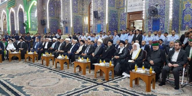 كربلاء: الصحن الحسيني الشريف يشهد انطلاق فعاليات مهرجان ربيع الشهادة الثقافي الرابع عشر