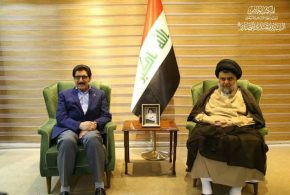 الصدر يلتقي بوفد من الديمقراطي الكردستاني في محل إقامته ببغداد