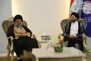 الصدر يلتقي الحكيم بمكتبه في بغداد