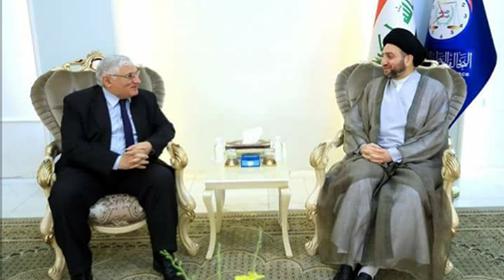 """الحكيم والشيوعي العراقي يبحثان تشكيل الحكومة المقبلة و""""الاغلبية الوطنية الحاكمة"""""""
