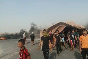 مظاهرات العاطلين عن العمل تتفجر في البصرة وشرارتها مقتل احد الشباب