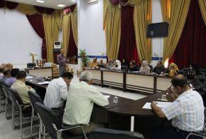 قسم الصحة العامة ينظم الاجتماع الدوري لقطاعات الرعاية الصحية