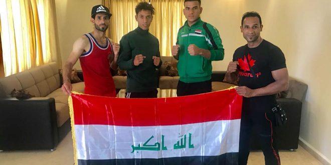 العراق يحقق الذهب في بطولة Mcs4 فايت نايت الدولية للبوكسنك