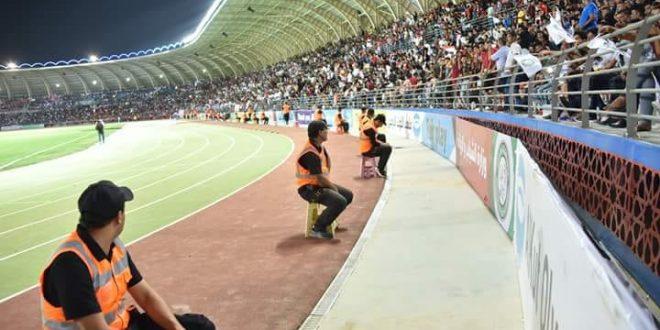 وزير الشباب والرياضة يفتتح ملعب الكوت الاولمبي في واسط