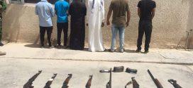 شرطة ميسان : تنفذ حملات أمنية تسفر عن إلقاء القبض على متهمين وتضبط أسلحة واعتده وعجلات ودراجات مخالفة للقانون