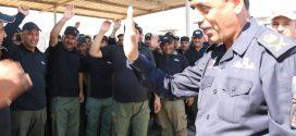 قائد شرطة كربلاء والمنشآت يثني على جهود قوة الواجب وأمن الملاعب