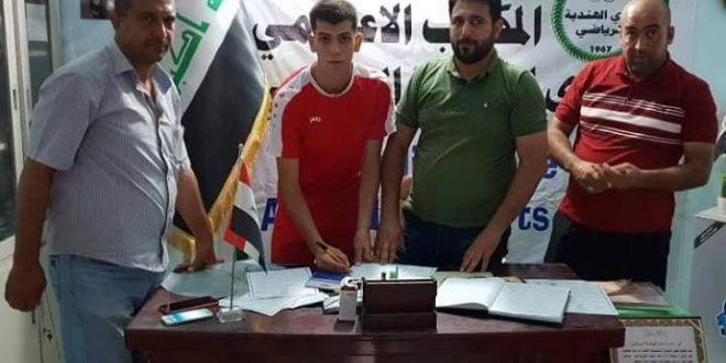 نادي الهندية يضم 15 لاعبا لصفوفة استعدادا لكاس العراق والدوري