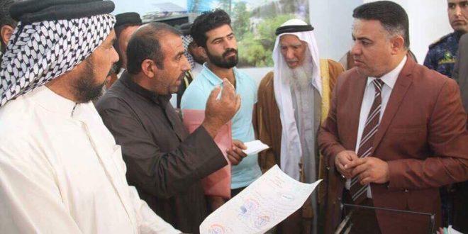 الدخيلي يعلن موافقة وزارة الزراعة على اعفاء المزارعين من بدلات الايجار