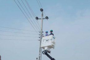 كهرباء ميسان : تعلن انجاز تأهيل خط ثورة العشرين (11 ك.ف ) في العمارة