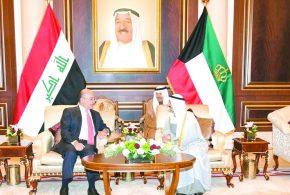 الرئيس العراقي: سلمنا الكويت ممتلكات وأرشيفاً بحجم 3 أطنان