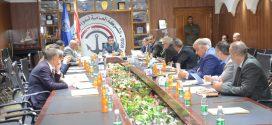 مدير عام الموانئ يترأس اجتماعا مهما للجهات الساندة لعمل الموانئ