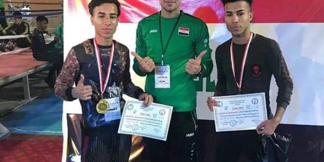امام المتقين يحرز المركز الثالث في بطولة العراق للمواي تاي