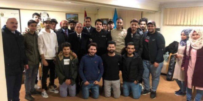 السفير العراقي في جورجيا وآذربيجان يطالب السلطة الآذرية الافراج عن الطلبة المحتجزة