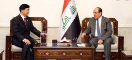 رئيس ائتلاف دولة القانون السيد نوري المالكي يستقبل سفير كوريا الجنوبية الجديد لدى العراق