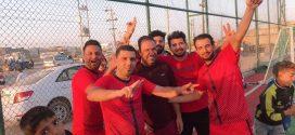 فريق رئاسة الجامعة (أ) يفوز على فريق كلية هندسة النفط والغاز ويحرز لقب بطولة خماسي كرة القدم للصالات