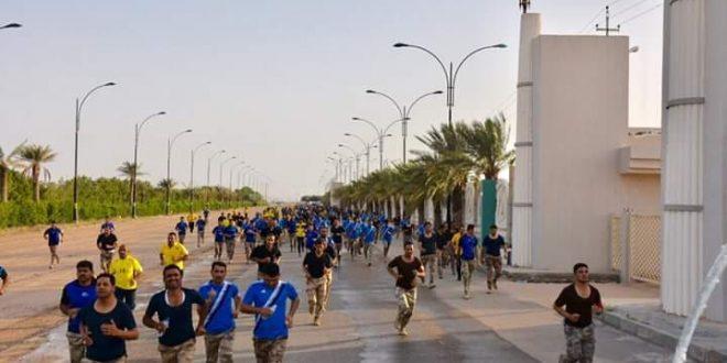 قيادة  حرس حدود المنطقة الرابعة تنظم  سباق الضاحية لتشكيلاتها