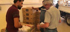 شركة غاز البصرة توزع سلة غذائية رمضانية على العوائل المعففة في البصرة