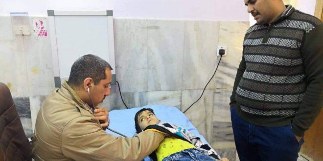 مستشفى كربلاء التعليمي للأطفال يستقبل أكثر من ( 100) ألف مراجع خلال الثلث الأول من العام الحالي