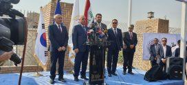 وزارة النقل تفتتح مشروع طريق الصداقه الدوليه ومعهد الموانئ