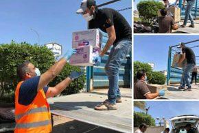 """برنامج """"شركة غاز البصرة تهتم بكم"""" يدعم المجتمع المحلي لمقاومة فيروس كورونا"""