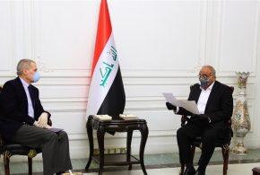 عبد المهدي يرحب بمقترح امريكي ببدء حوار استراتيجي مع الحكومة الأمريكية