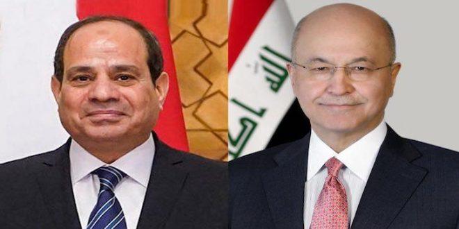 العراق ومصر يبحثان إمكانية تبادل الخبرات والمعلومات بين أجهزة الرعاية الصحية