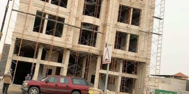 رجل اعمال بصري يتبرع ببنايته كمجمع طبي ازاء فايروس كورونا المتفشي في العالم