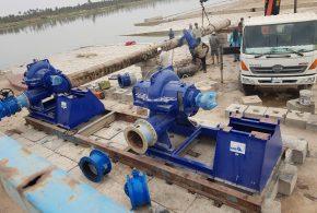 محافظ البصرة يعلن نصب وتشغيل مضخات مشروع ماء الموحد في قضاء الهارثة