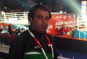 طارق حلو حميد مدرب منتخب الوطني للملاكمة في ضيافة اضواء الرياضية