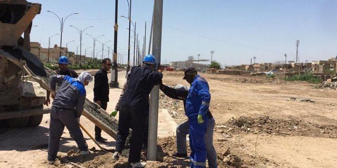 """توزيع كهرباء ميسان """" يعلن عن نجاح تشغيل محطة الهادي الجديدة الثانوية وإدخالها للعمل"""