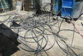 حملة كبرى لرفع التجاوزات عن الخطوط الكهربائية في قضاء الزبير