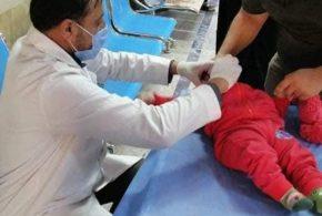 """صحة كربلاء تختتم الحملة الخريفية شُبه الوطنية للتلقيح بلقاح شلل الأطفال الفموي """""""