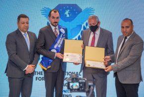 تحت مظلة الامم المتحدة زياد خلف يتوج سفيراً للسلام والنوايا الحسنة
