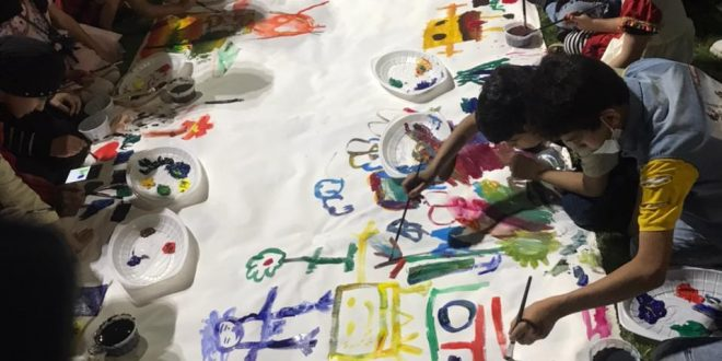 المركز الثقافي ينظم فعالية مشروع بسمة طفل الثالث