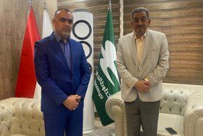النائب عبد الامير المياحي يلتقي مدير الخطوط الجوية العراقية ويتفقان على تسيير رحلاتٍ يومية بين بغداد والبصرة