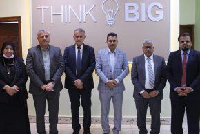مدير عام البنك المركزي العراقي فرع البصرة يحضر الاجتماع الاول لمشروع حاضنة الاعمال الاقتصادية