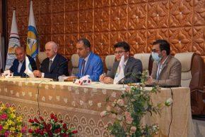 جامعة البصرة تبحث التعاون مع مركز ( أورسام ) التركي للدراسات الشرق اوسطية