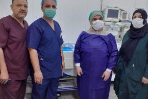 كربلاء : عملية قيصرية ناجحة بمُستشفى النسائية والتوليد التعليمي تُنقذ حياة مريضة أربعينية ووليدها